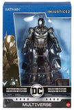 "DC Multiverse Mattel Platinum Collection Batman Injustice 7"" Tall Diecast Metal Action Figure"