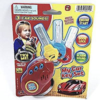My First Car Keys Set 3 Buttons With 3 Car Sound Plastic Toddler/Baby Toy