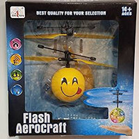 Flash Aerocraft Infra Red Sensor Sily Face Tongue Out Emoji Face Helicopter Face Remote Control Helicopter R/C Copter Heli Ball