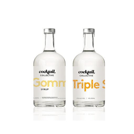 500ml gomme syrup | 500ml Triple sec | Cocktail collective