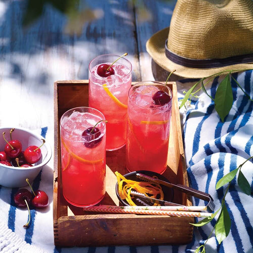 Beachcomber with cherries | cocktail collective