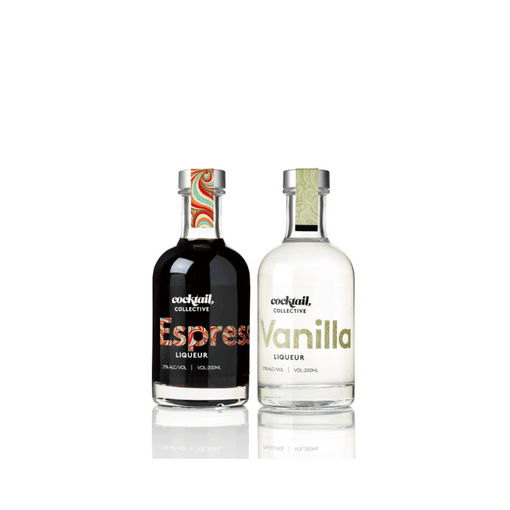 Cocktail collective Espresso Liqueur 200ml | Vanilla Liqueur 200ml | Cocktail Collective