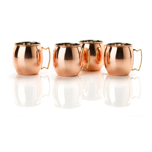 Set of 4 Copper Mule Mugs from Cocktail Collective