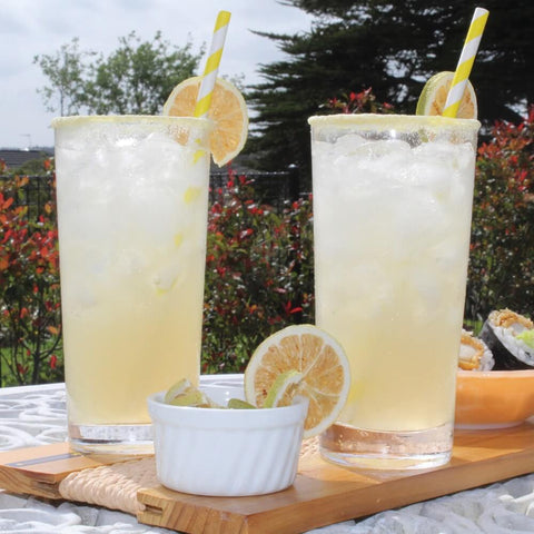 Mocktails with Straws Image