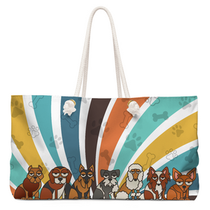 Cool Puppies Weekender Tote Bag - RuffRuffShop.com