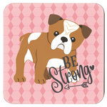 Load image into Gallery viewer, Inspirational Puppy Coasters Set of 4 - RuffRuffShop.com