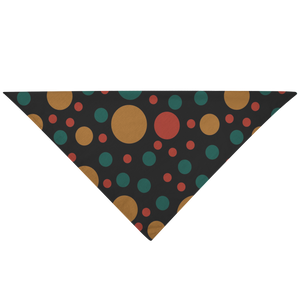 Color Dots Dog Bandana - RuffRuffShop.com