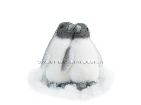 Digital Prop - Little penguins cut out