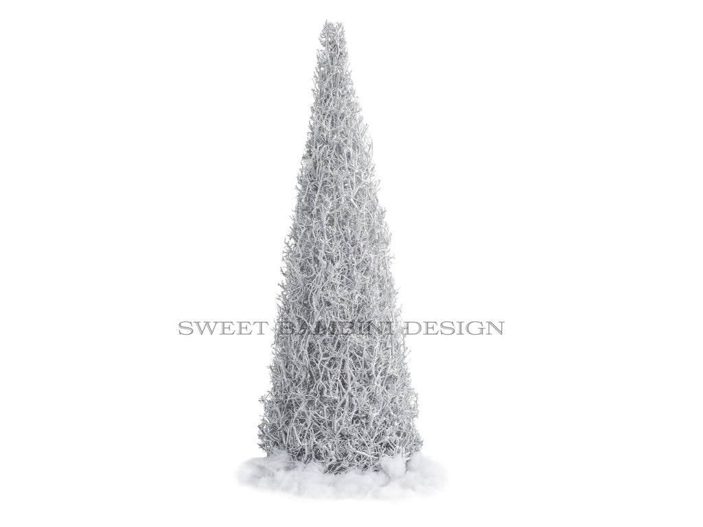 Silver Tree - digital prop/composite stock
