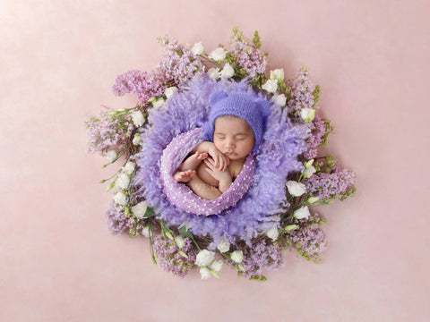 Newborn Digital Backdrop - Lilac Dream