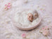 Newborn Digital Backdrop for girls - Vintage side lit set up