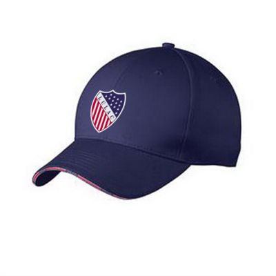 Cap Americana Flag Bill - Embroidered Logo