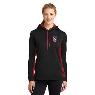 Hooded Pullover - Sport-Wick Fleece - Embroidered