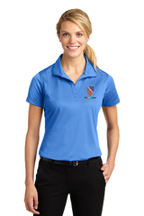 Rainbow Stripes Embroidered Polo For Women