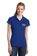 Collegiate Polo Shirt - Embroidered Logo