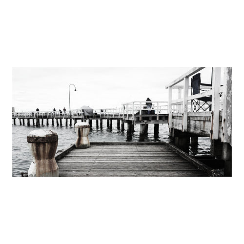 The Port - Melbourne.Monochrome