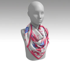 Cape May - Silk Scarf
