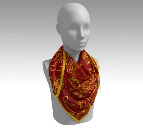 Madrid - Silk Scarf
