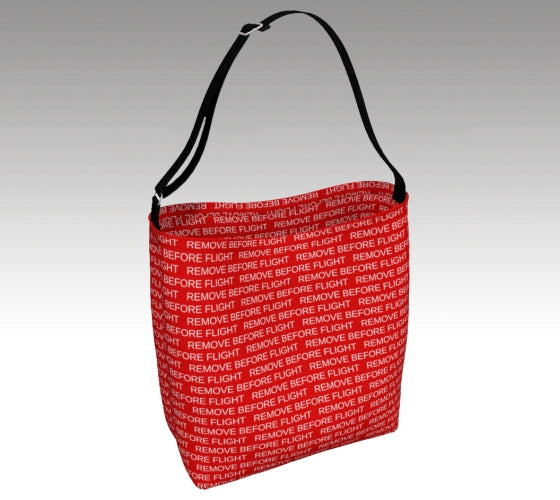 Remove Before Flight Day Tote