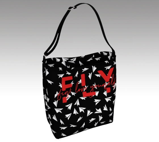 FLY - First Love Yourself Day Tote