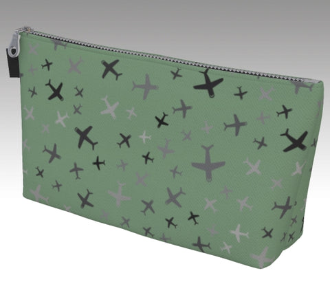 Plane Fun Makeup Bag