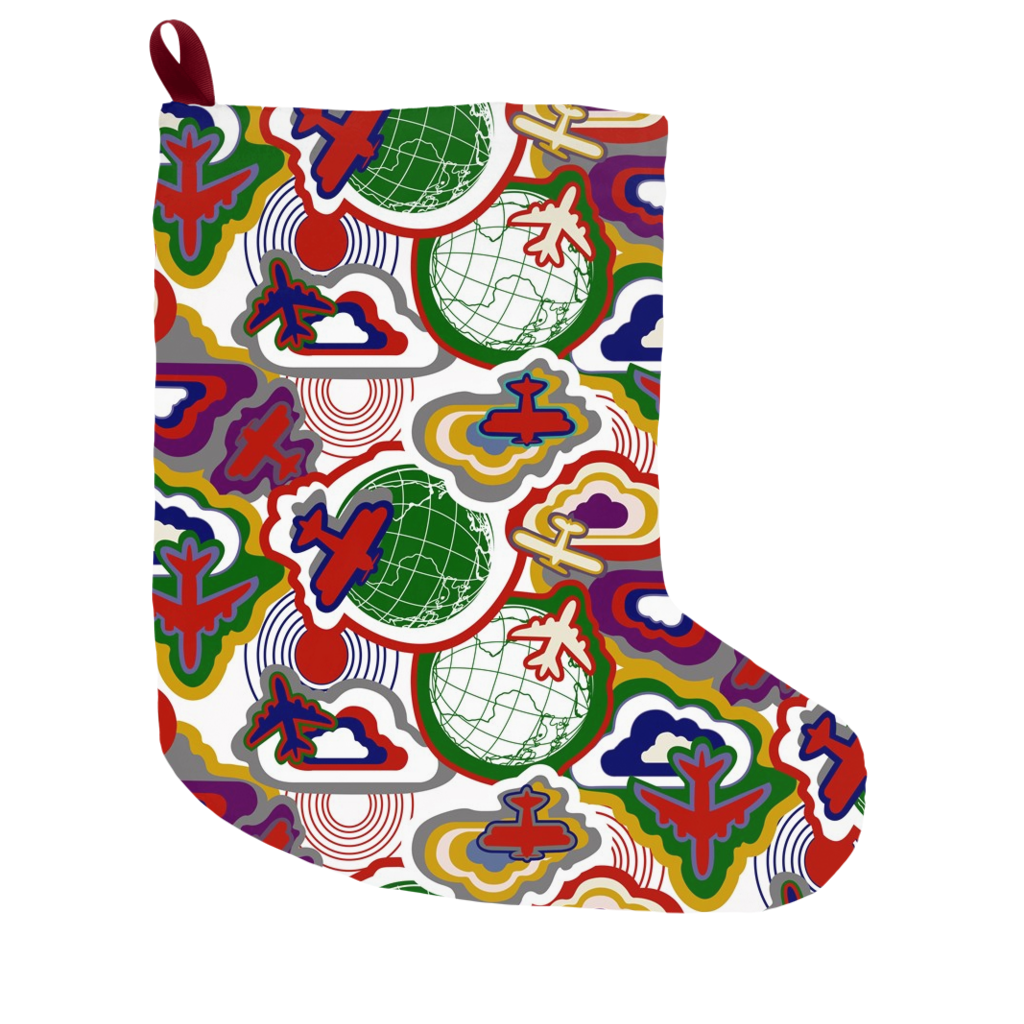 Holiday Adventure Christmas Stocking