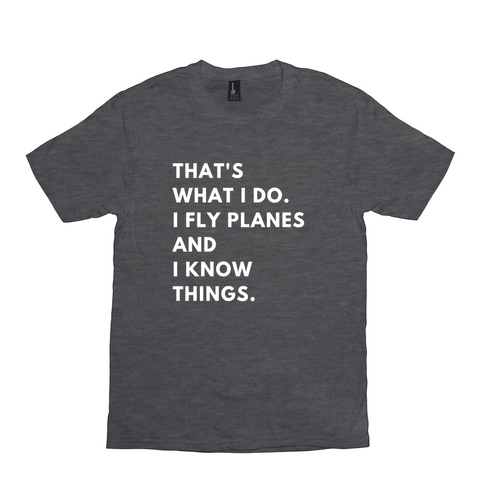 I Fly Planes - Unisex Tee
