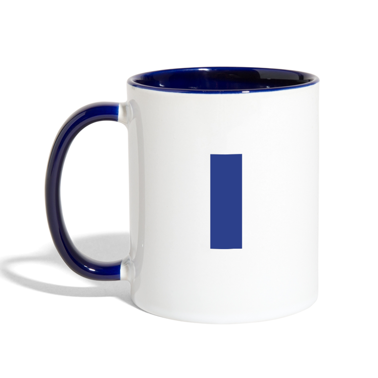 I Love My Pilot Contrast Coffee Mug - Blue