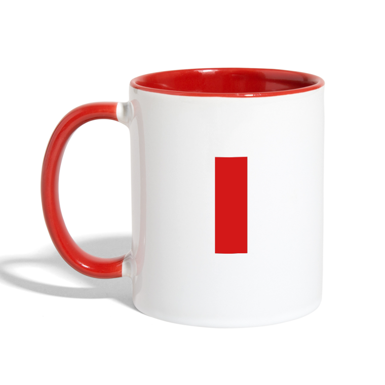 I Love My Pilot - Contrast Coffee Mug - Red