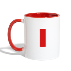I Love My Pilot - Contrast Coffee Mug - white/red