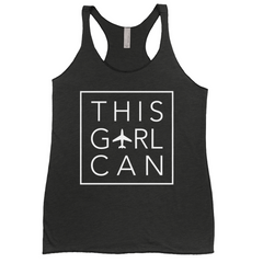 This Girl Can Racerback Tank