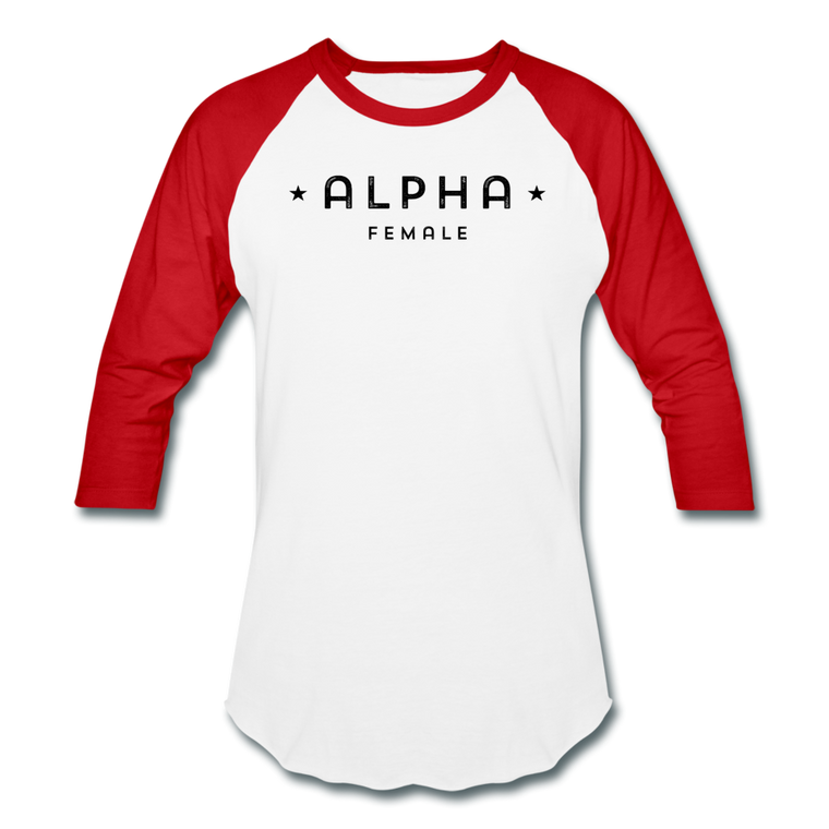 Alpha Female 3/4 Baseball Tee