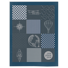 Travel Fleece Blanket - Explorer