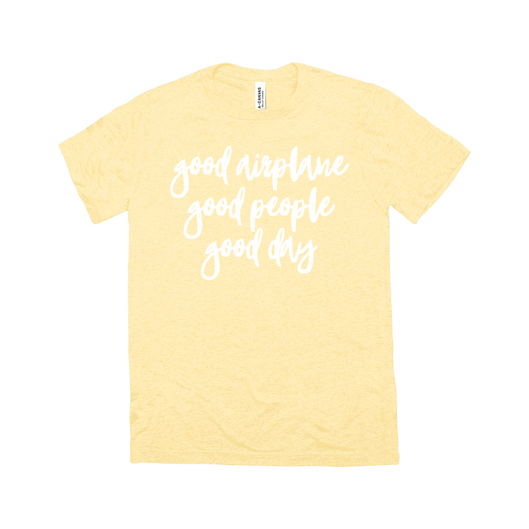Good Airplane Unisex Tee