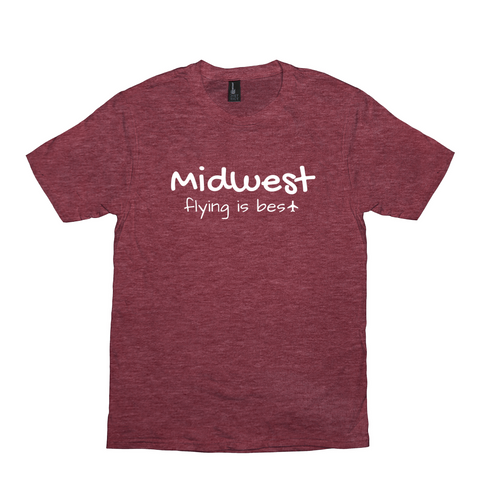Midwest Flying is Best Unisex Tee