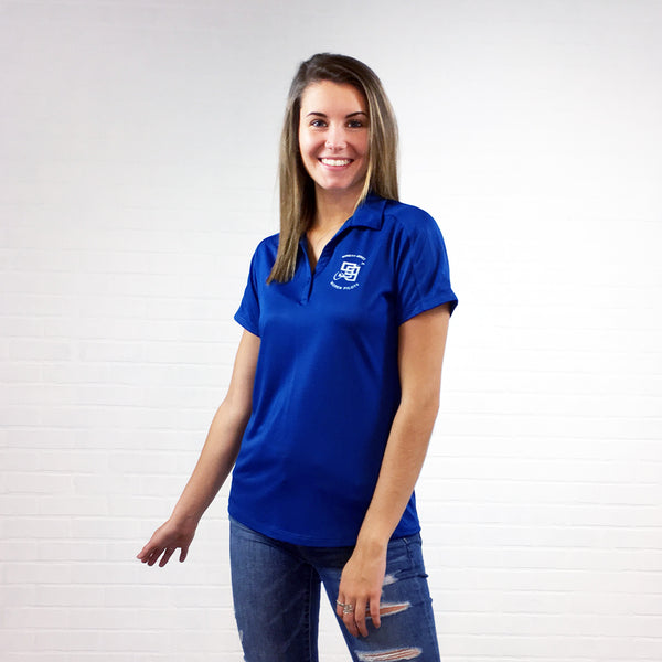 The Ninety-Nines Official  Ladies Diamond Jacquard Polo