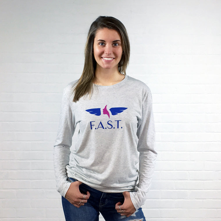 F.A.S.T. Official Logo Long Sleeve Unisex T-shirt