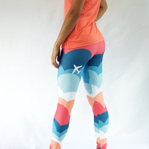 One Plane Jane Signature Cloud Leggings