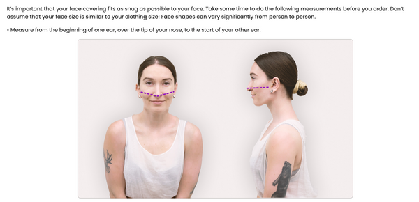 Cities Poly Stretch Face Mask (non-medical)