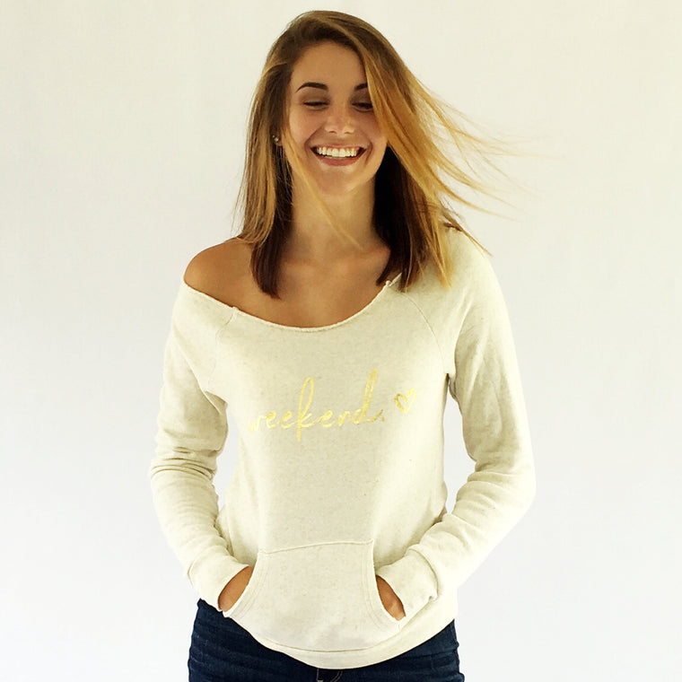 Golden Weekend Sweatshirt Wheat