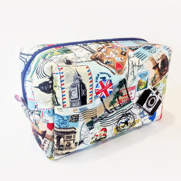 Cosmetic Bag and Travel Pouch - All Around The World