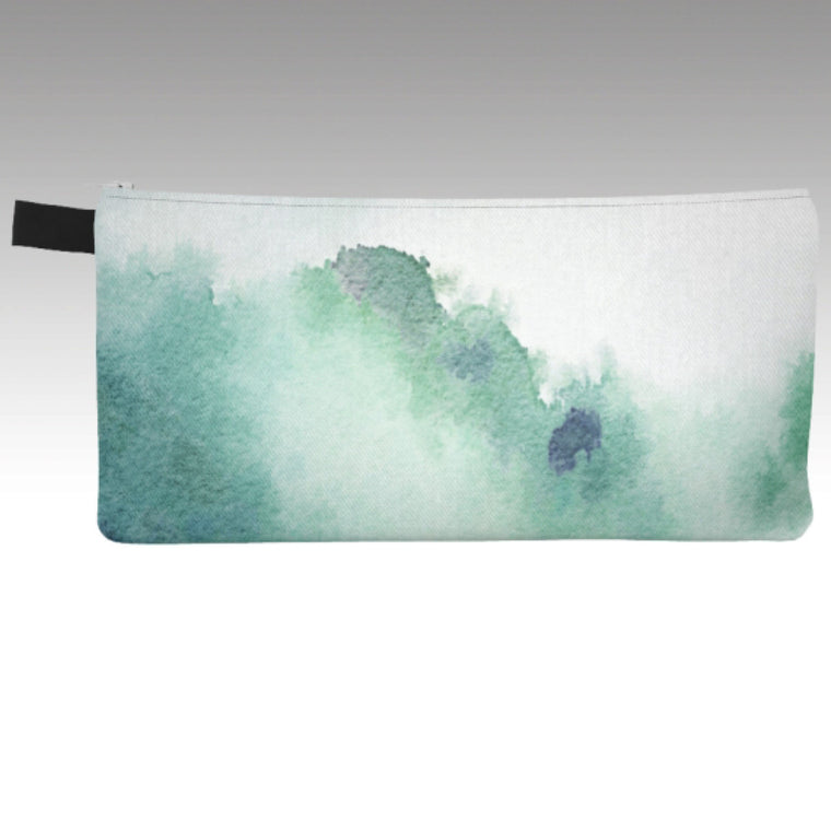 Sky in Watercolor Pencil Pouch