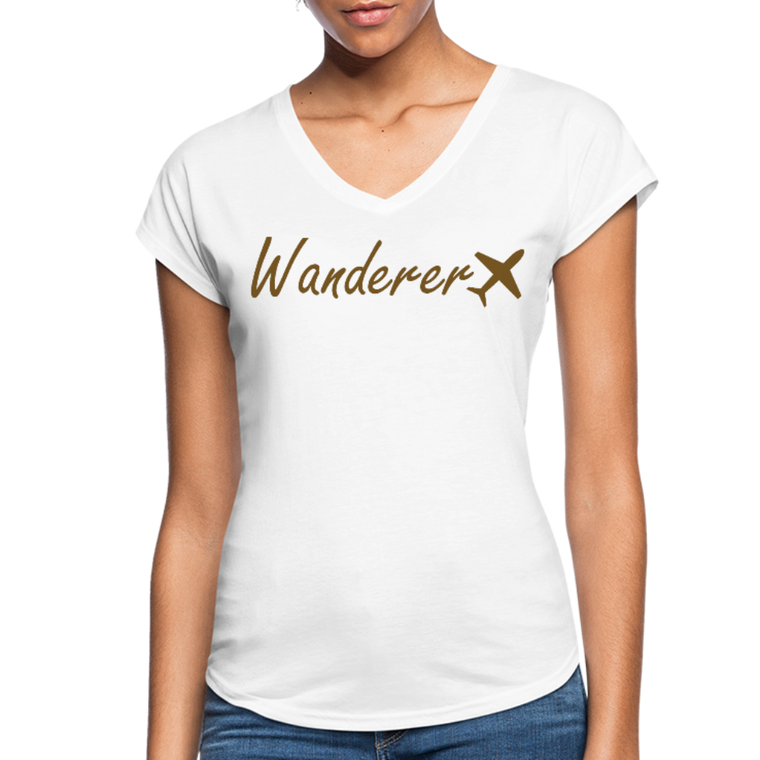 Wanderer Women's V-neck Tee