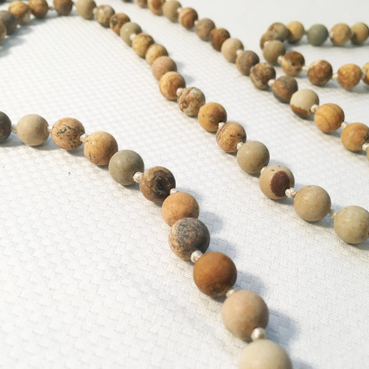 Necklace - Stone Bead Strand