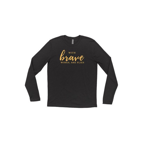 Brave Long Sleeve Tee