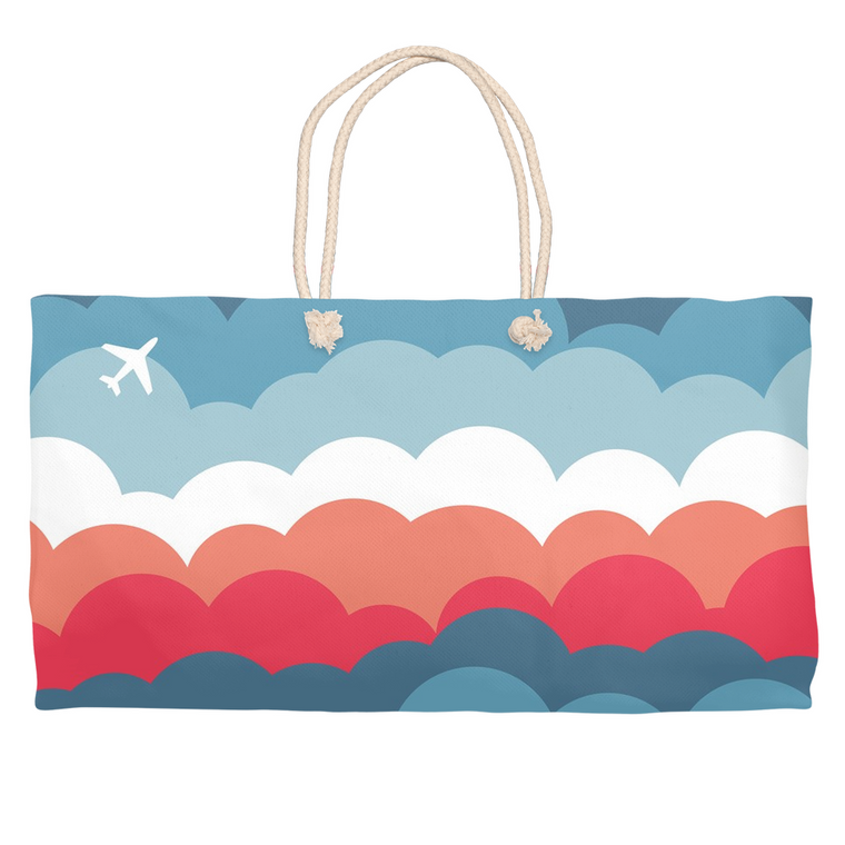 Signature Clouds Weekender Tote