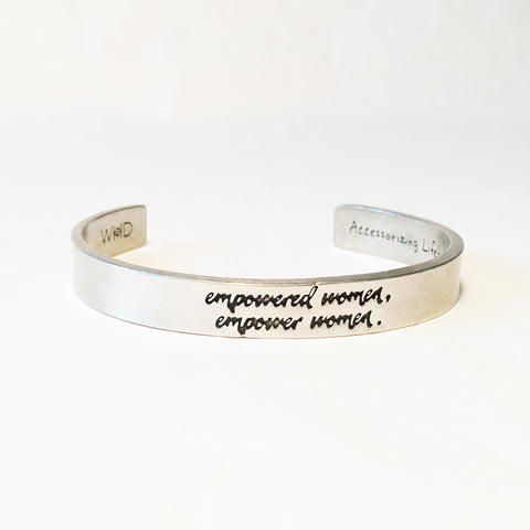 Empowered Women Empower Women Adjustable Cuff Bracelet