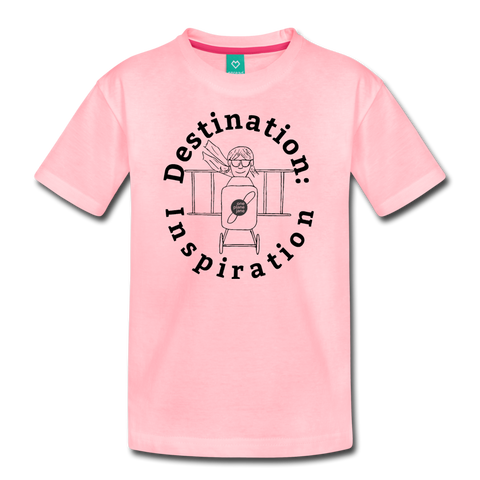 Destination: Inspiration - Kids' Tee - red