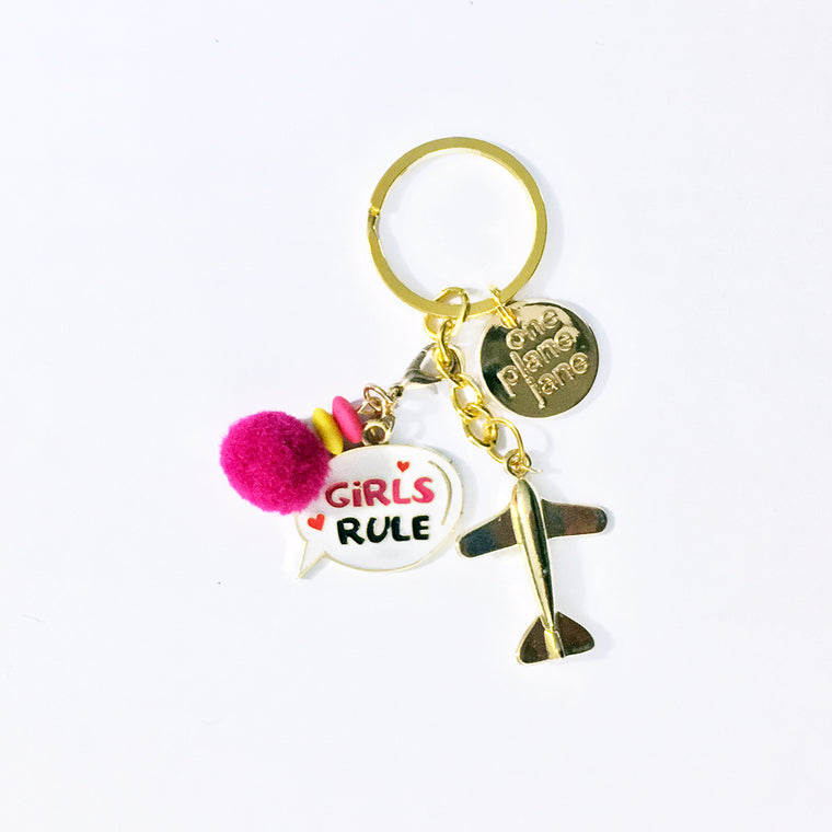 Keychain - Girls Rule
