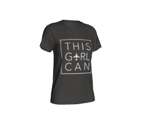 This Girl Can - Women's Cotton Tee